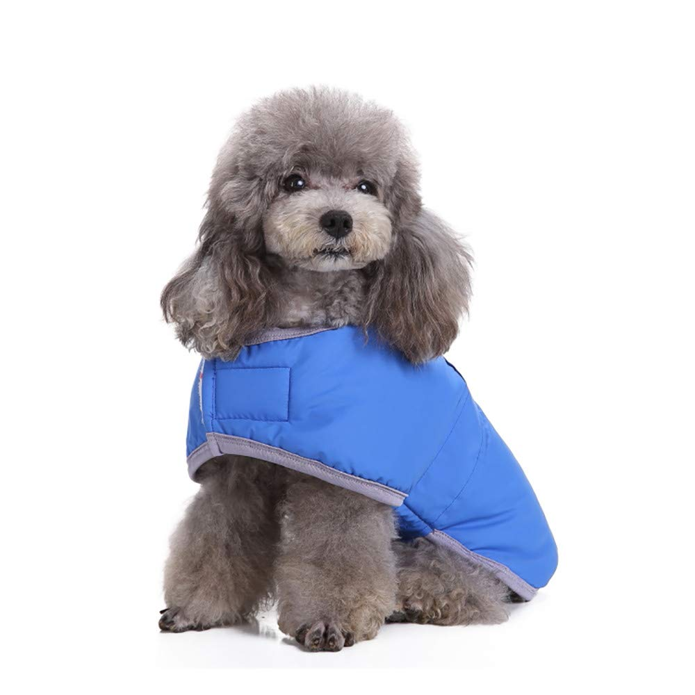 Glumes Cold Weather Dog Coats Loft Reversible Winter Fleece Dog Vest Waterproof Pet Jacket Available in Extra Small, Small, Medium, Large Extra Large Sizes