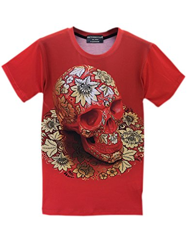 Match Hip Hop Rock Punk Harajuku Style Tee 3D Shirts(Medium (Label X-Large),LKTS7_002)