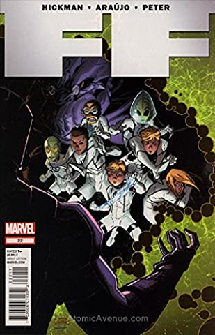 FF #22 FN ; Marvel comic book (Alex Hickman)