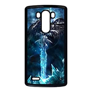 LG G3 Cell Phone Case Black The Lich King 001 MWN3906102