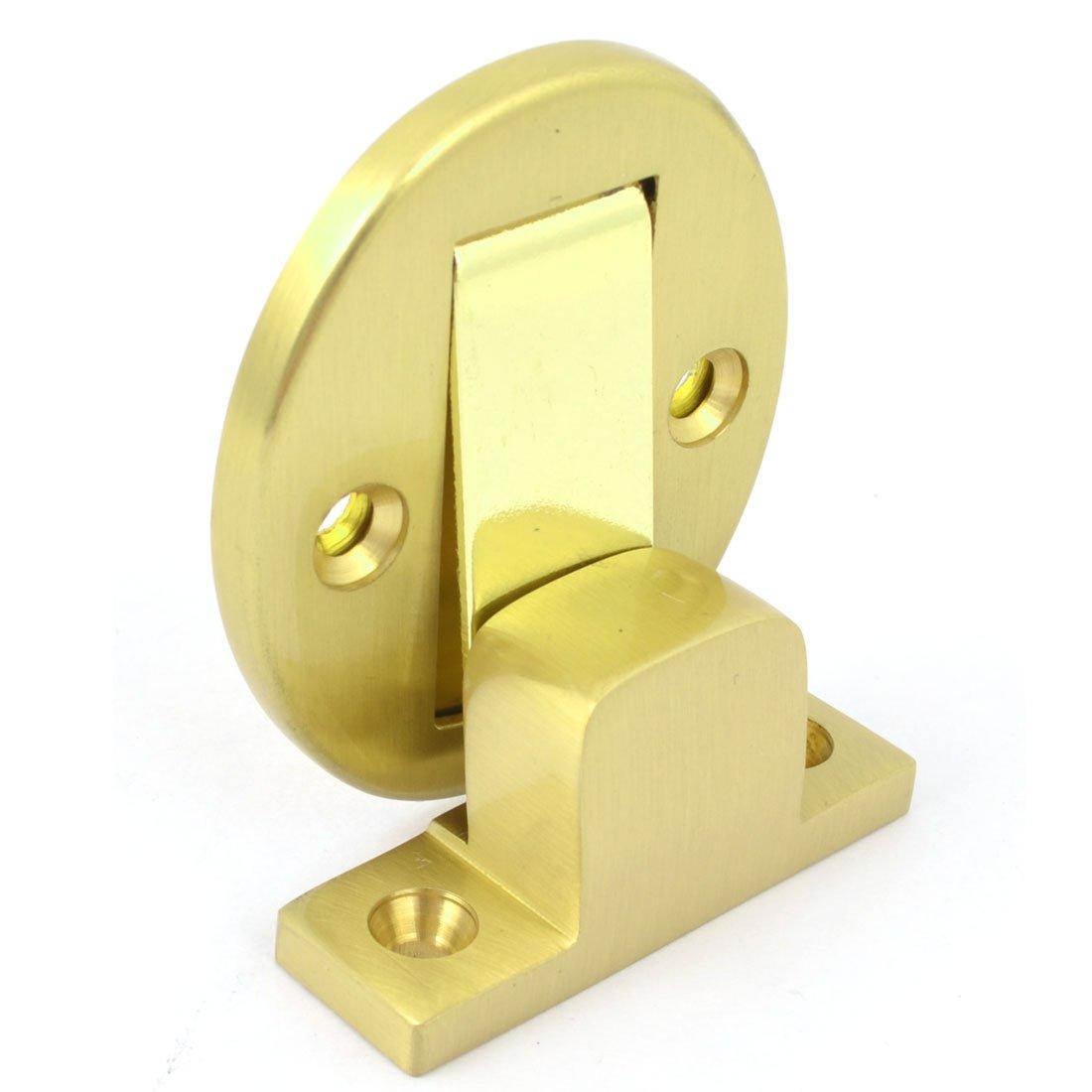 Tope para puertas de oficina metá lico tope para puerta con cierre magné tico tono de oro Sourcingmap a14051900ux1388