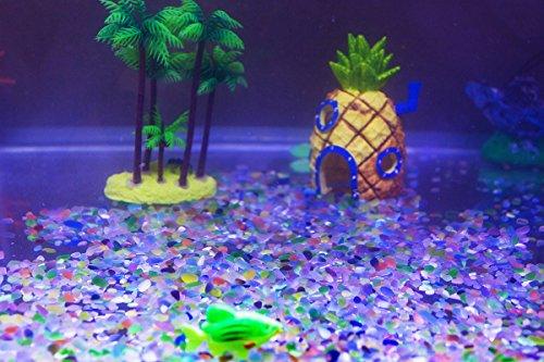 Gravel govine aquarium decorative colorful gravel pebble for Fish tank deals