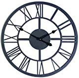 "Gardman 8450 Giant Roman Numeral Wall Clock, 21.5"" Long x 21.5"" Wide"