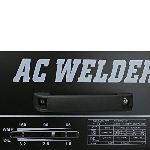 XtremepowerUS 160 AMP Arc Welder Welding Machine With Accessories by XtremepowerUS (Image #2)