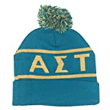 Alpha Sigma Tau Sorority Letter Winter Beanie Hat Greek Cold Weather Winter AST