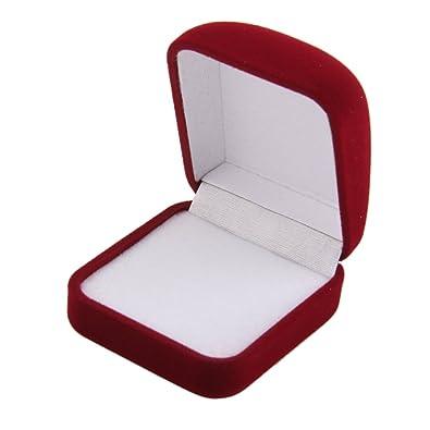 【ノーブランド品】ジュエリーケース 携帯用 リング ボックス ギフトケース 結婚指輪 指輪