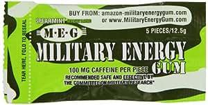Military Energy Gum - Spearmint