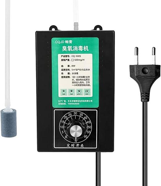 Weehey Casa Multifuncional purificador de Aire de Agua 500 MG una Hora de portátil esterilización ozonizador: Amazon ...