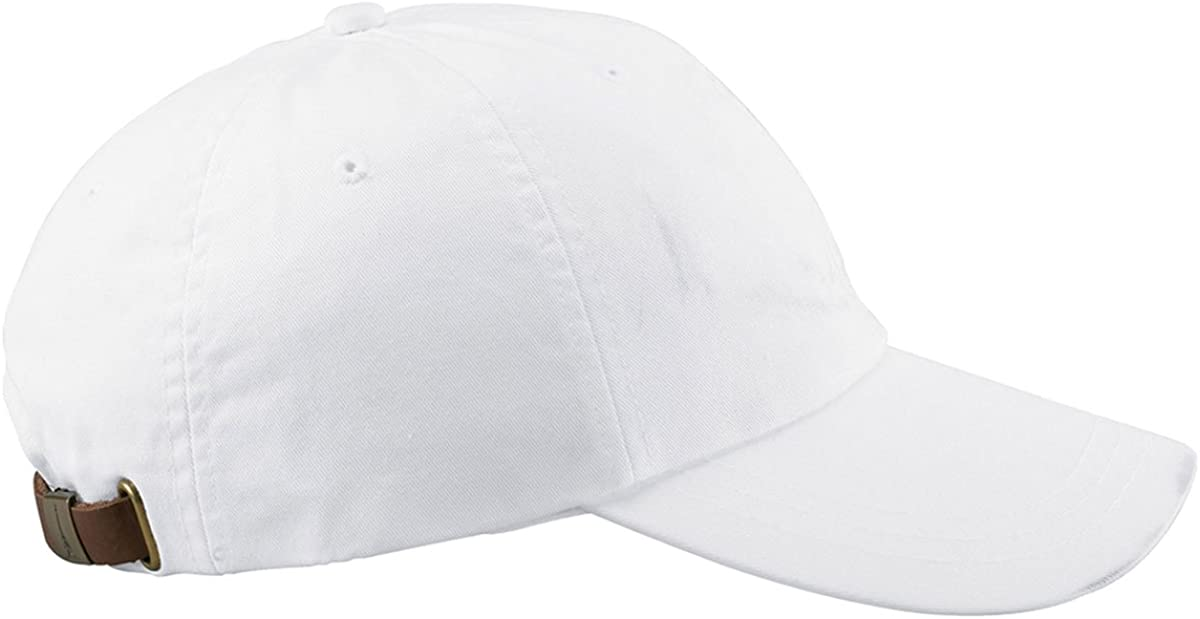 Adams 6-Panel Hat Low-Profile Washed Pigment-Dyed Cap AD969