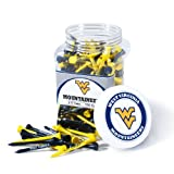 Team Golf West Virginia Mountaineers Official NCAA 2-3/4 inch Golf Tees by 256515
