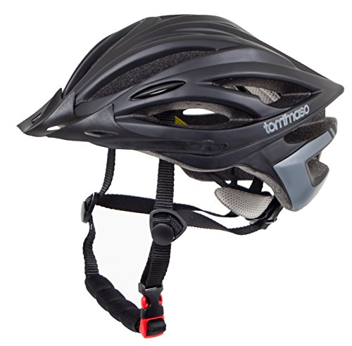 Tommaso Ombra Lightweight Cycling Bike Helmet With Removable