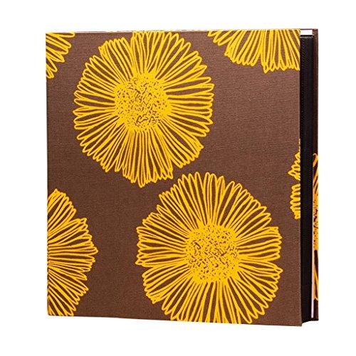 ZYANZ Interstitial Hybrid Album, Cotton Jacquard, Large Capacity 848 Photos, Family Children's Baby Album (Color : Sunflower, Size : 36x36x5cm)