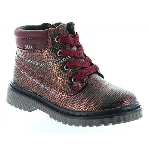 XTI Stiefel Für Mädchen 53914 Metalizado Burdeos