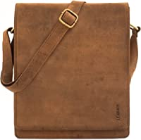 LEABAGS London genuine buffalo leather crossbody bag in vintage style