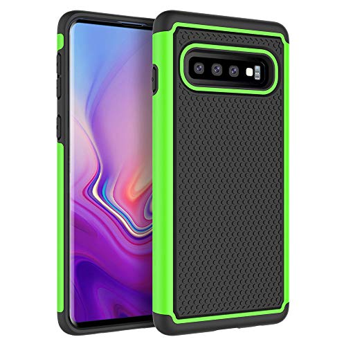 Case for Galaxy S10 Plus, SYONER [Shockproof] Defender Protective Phone Case Cover for Samsung Galaxy S10 Plus (6.4