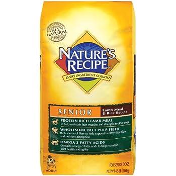Amazon.com: Nature's Recipe Senior Dog Food, Lamb Meal