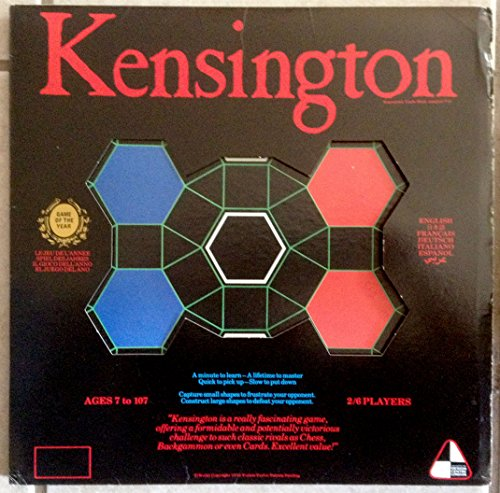Kensington Board Game 1979 - Canada Kensington