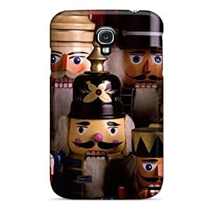 Durable Defender Cases For Galaxy S4 Tpu Covers(nutcracker Troop Cards)