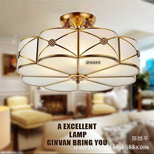 SSBY Europäische minimalistischen Kupfer Deckenleuchten Beleuchtung ...