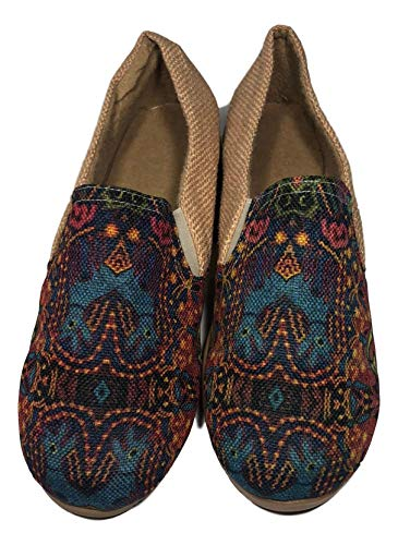 Angelina Commerces Flats Shoes Cora Dog from Nayarit Handmade Handcrafted (7.5 US)