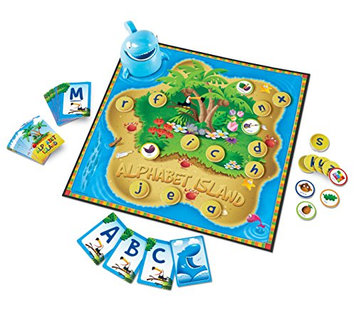 Learning Resources Alphabet Island A Letter & Sounds - Games Card Alphabet