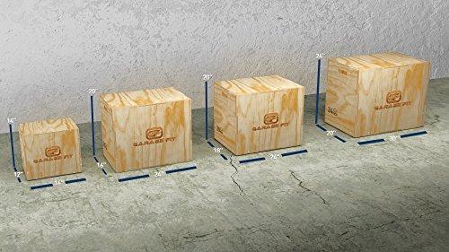 3 In 1 Wood Plyo Box 20 24 30 Inch Plyometrics Box