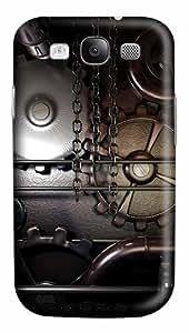 Gears Machine Steampunk Custom Polycarbonate Plastics Case for Samsung Galaxy S3 / S III/ I9300