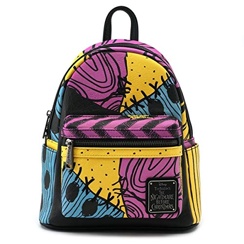 Loungefly x Nightmare Before Christmas Sally Costume Mini Backpack (One Size, Multi) ()