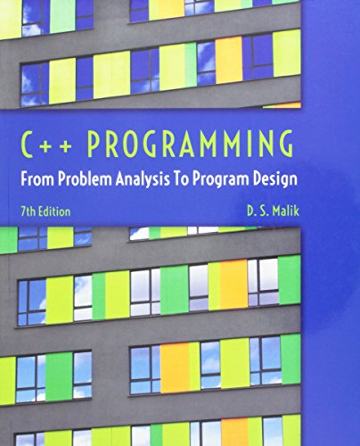 Bundle: C++ Programming: From Problem Analysis to Program Design, 7th + CourseMate with Lab Manual Printed Access Card by Course Technology