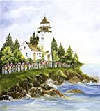 New England Lighthouse Appliance Art Decorative Magnetic Dishwasher Front Panel Cover - Quick, Easy & Affordable DIY Kitchen Upgrade