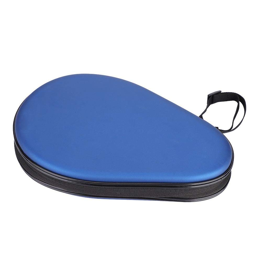 VGEBY Waterproof PU Table Tennis Case, Waterproof Material Table Tennis Racket Hard Case Ping Pong Bat Bag Cover by VGEBY