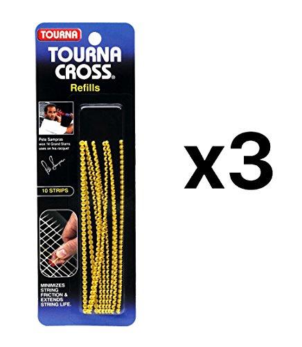 Unique Tourna Cross Sampras Tennis Racquet String Saver-Refills-10 Pack ()