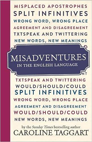 Misadventures In The English Language Amazon Co Uk Caroline