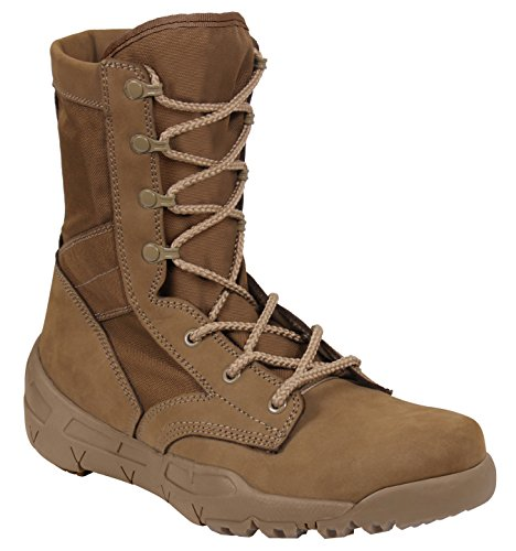 (Rothco V-Max Lightweight Tactical Boot, Coyote Brown, Size 7)