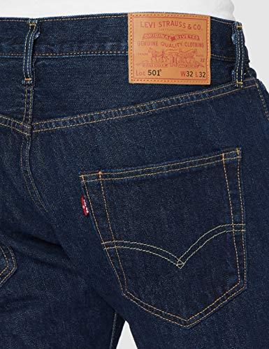 Levi's Men's 501 Regular Straight Fit Design Comfortable Denim Jeans