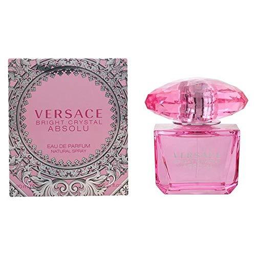 Versace Bright Crystal Absolu Eau de Parfum Spray for Women, 3 Ounce ()