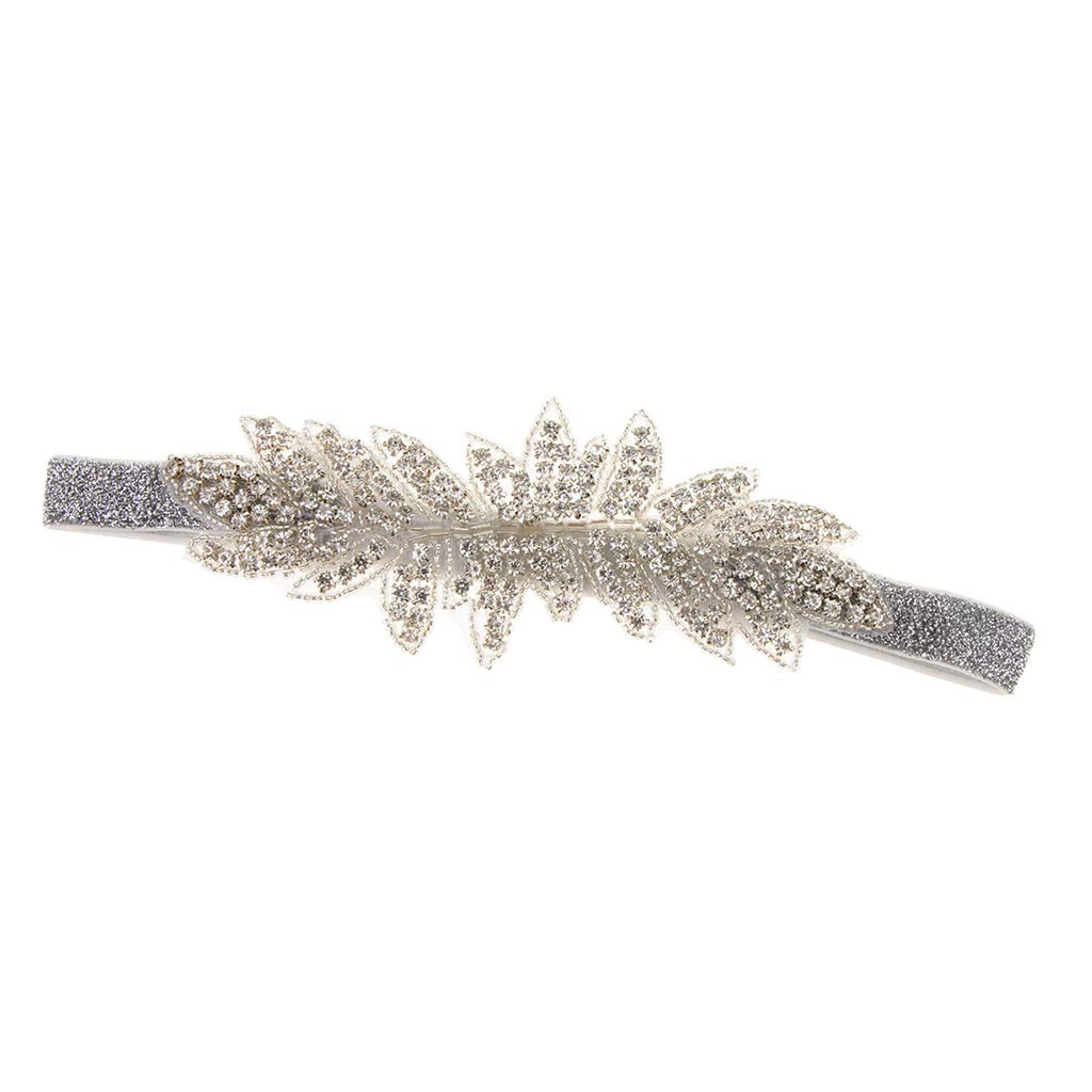 Baoblaze 1920s Flapper Headpiece Bridal Headdress Costume Party Accessory Roaring 20s Accessories for Women