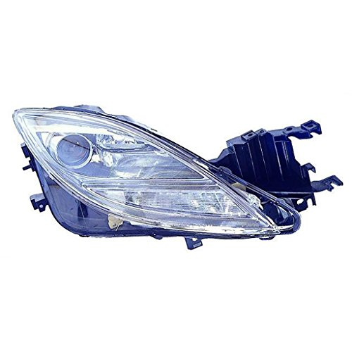 - Fits Mazda 6 09-10 Headlight Assembly Unit Halogen Type Passenger Side (NSF Certified)
