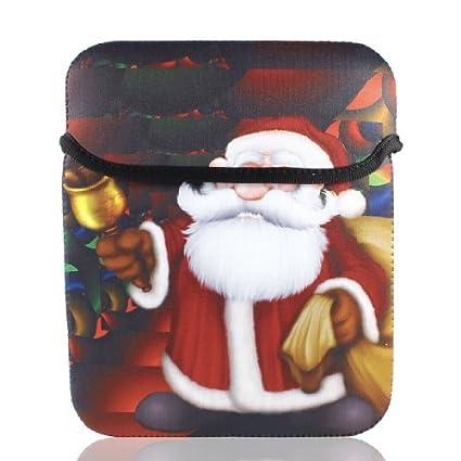eDealMax 9 9,7 10 Sata Claus neopreno Tablet PC portátil del cuaderno de la