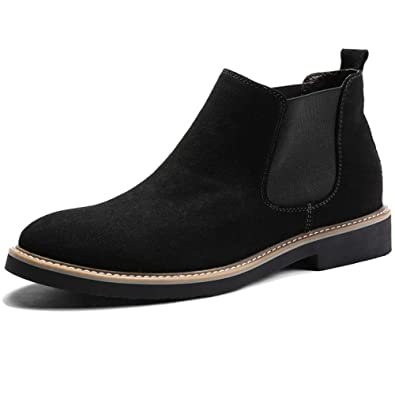 Botines para Hombre Martin Boots Gamuza Botines De Gamuza ...