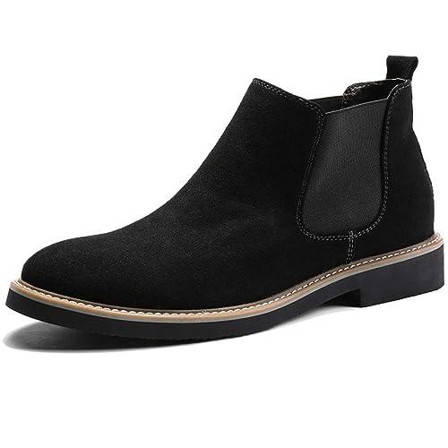 Botines para Hombre Martin Boots Gamuza Botines De Gamuza Zapatos Informales De Trabajo Ligero Y Transpirable: Amazon.es: Zapatos y complementos