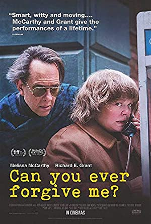 Image result for can you ever forgive me poster