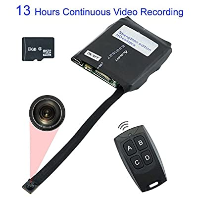 Toughsty™ 8GB Portable Mini Hidden Camera Module Motion Activated DV Camcorder Support 13 Hours Continuous Video Recording