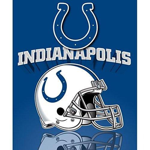 Northwest Indianapolis Colts Gridiron Fleece Throw ()