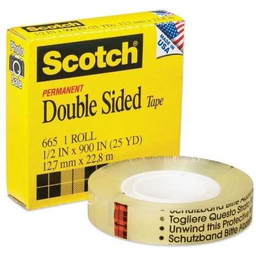 Wholesale CASE of 25 - 3M Scotch Double-Sided Tape-Double-si