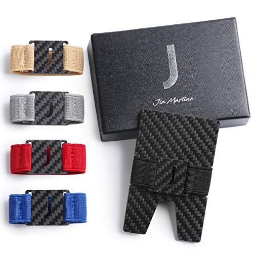 Carbon Fiber Wallet - RFID Wallets For Men - Minimalist Wallet For Men - Credit Card Wallet - Credit Card Holder - Carbon Wallet - Money Clip for Men