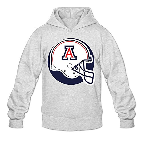 MARC Men's University Of Arizona Sweatshirt Ash Size L