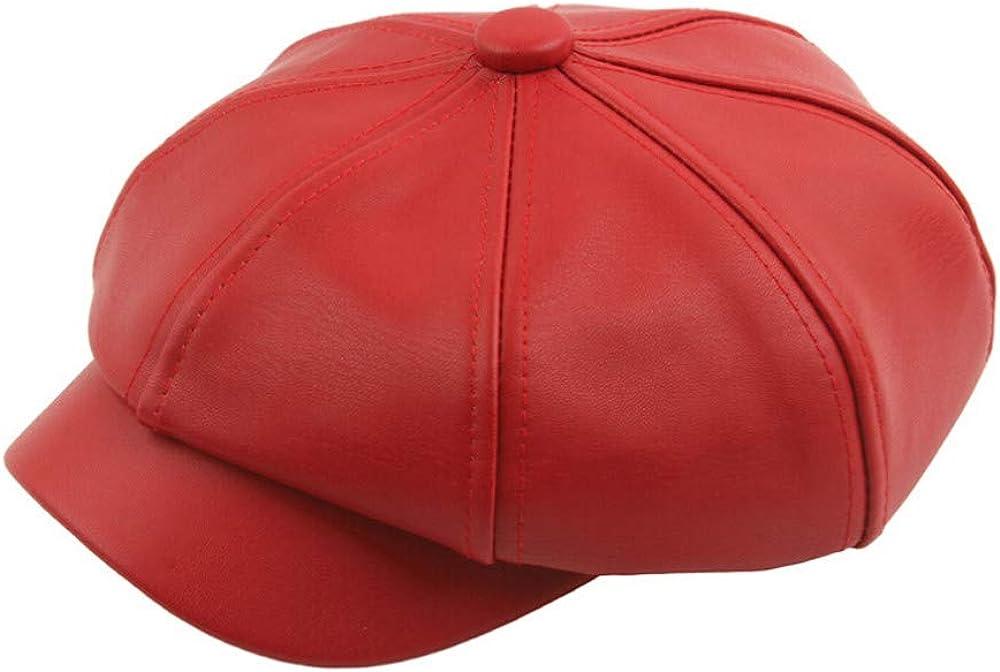 JPOQW Unisex Beret Hat PU...