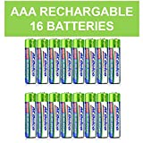 ACDelco AAA Ni-MH Precharged Rechargeable Batteries, 16-Count
