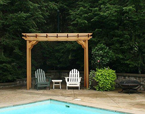 Creekvine Designs 3' x 14' Cedar New Dawn Pergola